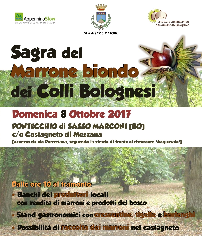 Sagra del Marrone biondo dei Colli Bolognesi