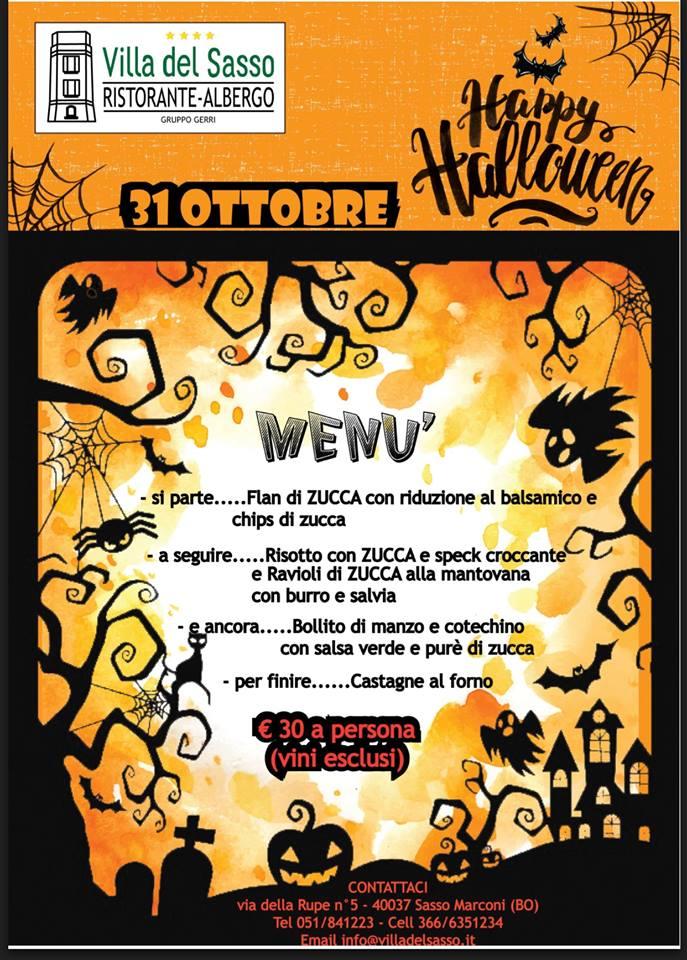 Villa del Sasso - Cena di Halloween
