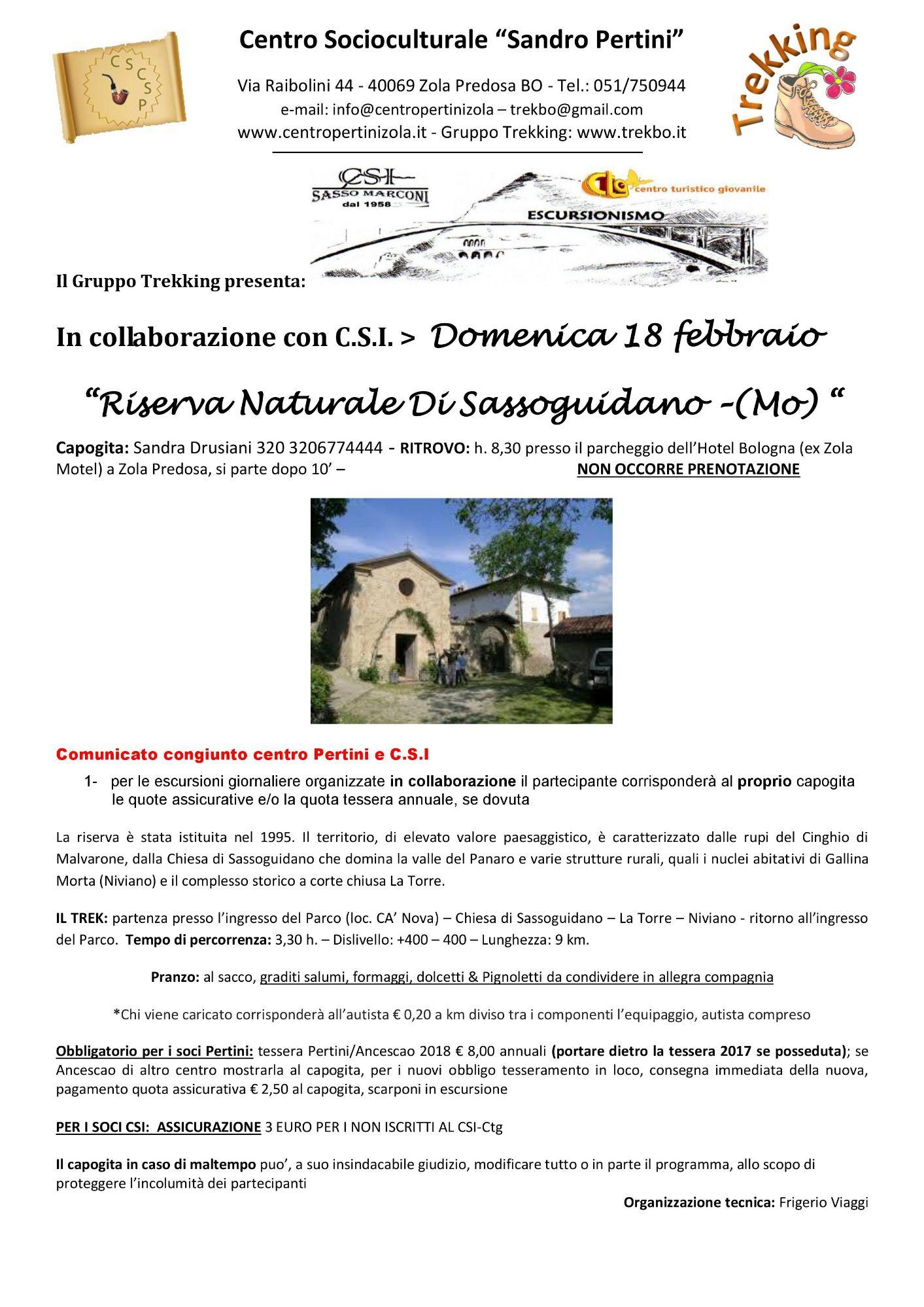 Riserva Naturale Di Sassoguidano (MO)