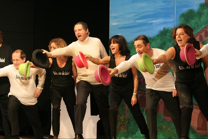 Teatro dialettale - Arrigo Lucchini in