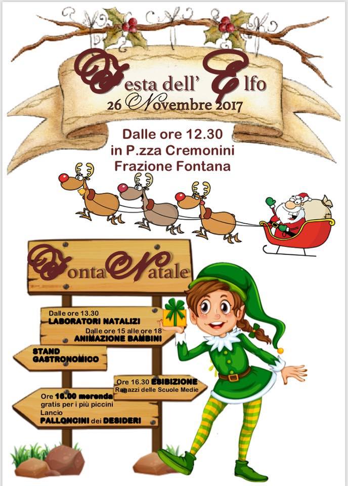 FontaNatale- Festa dell' Elfo a Fontana