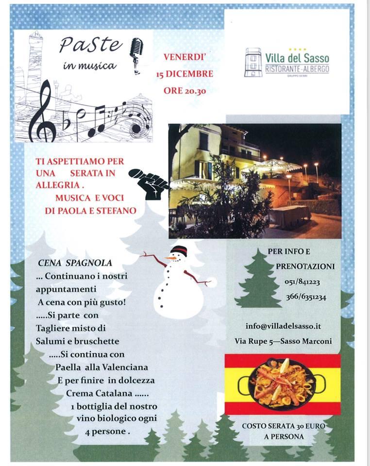 Villa del Sasso - Paste in musica