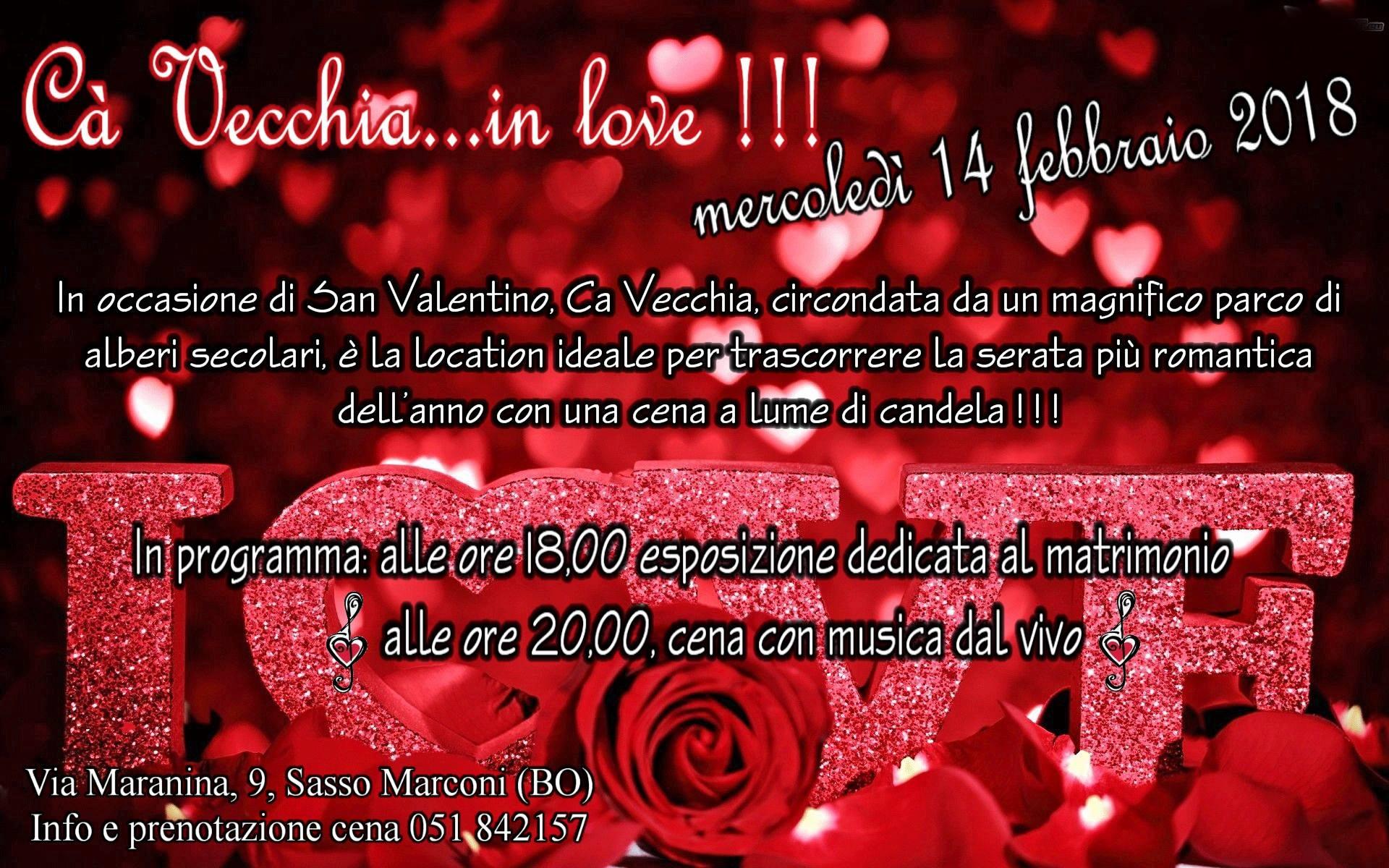 San Valentino al Ristorante Ca' Vecchia