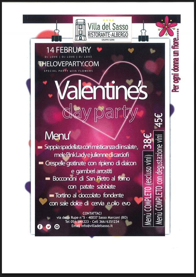Villa del Sasso - Valentine's Day Party