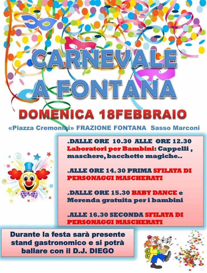 Carnevale a Fontana