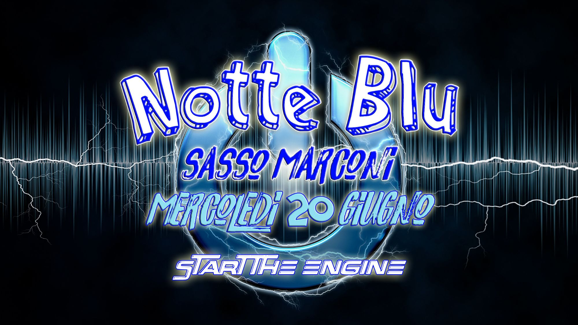 Notte Blu a Sasso Marconi
