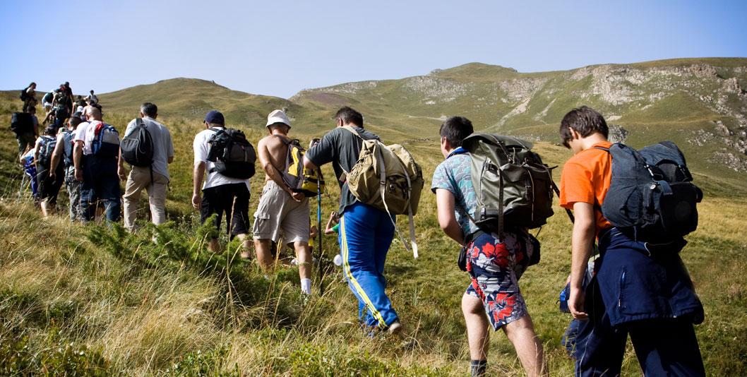 Escursione - Muri tondi in Appennino
